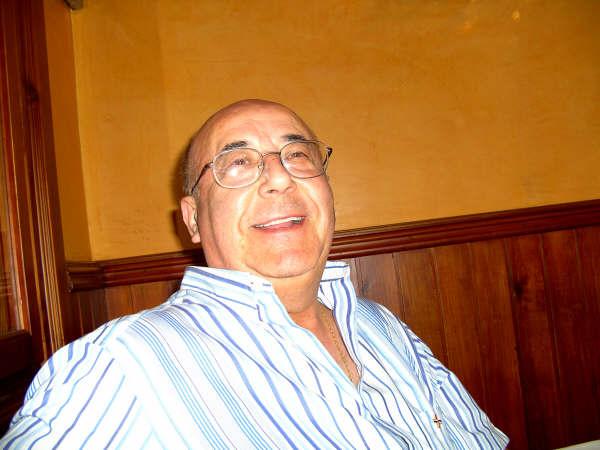 El Padre Antonino que también fue a la Cena del Laicado representando a la Comunidad de Padre Trinitarios