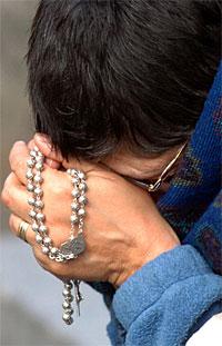 Rezar el rosario de una forma diferente.