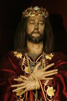 LA IMAGEN DE JESÚS NAZARENO RESCATADO EN EL BARRIO VARSOVIANO DE SOLEC