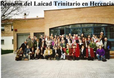 Fotos de la Reunión del Laicado Trinitario en Herencia (II).