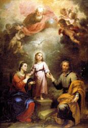 """solemnidad de la Santísima Trinidad. """"Los Brazos abiertos del amor""""."""