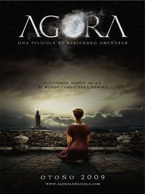 """Los tres engaños de la pelicula """"Ágora"""" de Alejandro Amenabar"""